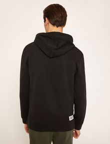 ARMANI EXCHANGE HIGH-SHINE STENCIL LOGO HOODIE Sweatshirt Man e