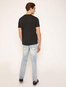 ARMANI EXCHANGE OLIVE DRAB SLIM LOGO TEE Logo T-shirt Man e