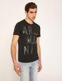 ARMANI EXCHANGE OLIVE DRAB SLIM LOGO TEE Logo T-shirt Man f