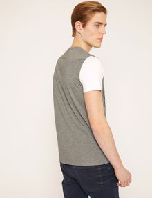 ARMANI EXCHANGE CIRCLE COLORBLOCK SLIM LOGO TEE Logo T-shirt Man e