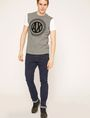 ARMANI EXCHANGE CIRCLE COLORBLOCK SLIM LOGO TEE Logo T-shirt Man d