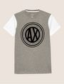 ARMANI EXCHANGE CIRCLE COLORBLOCK SLIM LOGO TEE Logo T-shirt Man r