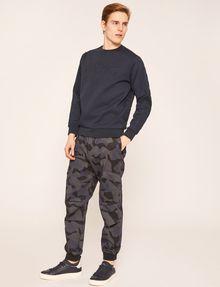 ARMANI EXCHANGE DEBOSSED LOGO GRID SWEATSHIRT Sweatshirt [*** pickupInStoreShippingNotGuaranteed_info ***] d