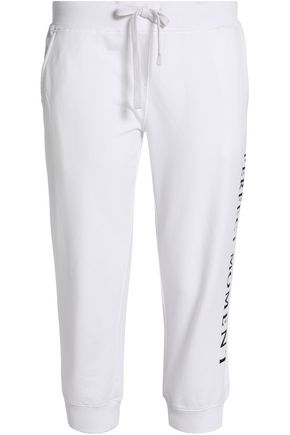PERFECT MOMENT Cotton track pants