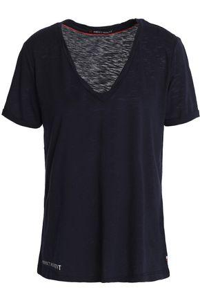PERFECT MOMENT スラブコットン混ジャージー Tシャツ