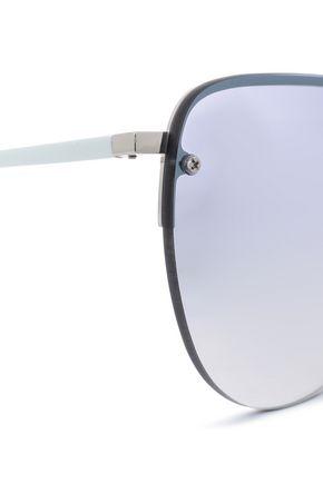 SUNDAY SOMEWHERE Aviator-style acetate sunglasses