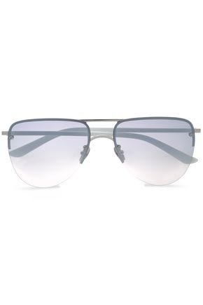 SUNDAY SOMEWHERE Aviator-style acetate sunglasses
