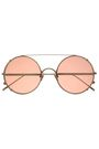 SUNDAY SOMEWHERE Round-frame tortoiseshell acetate and gold-tone sunglasses