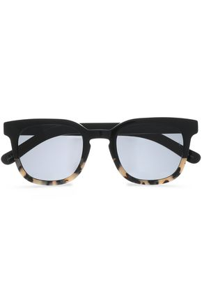 SUNDAY SOMEWHERE D-frame printed acetate sunglasses