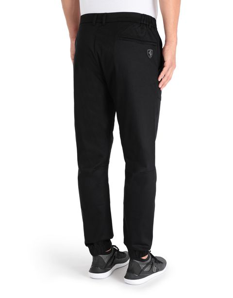 Men's chino trousers in technical fabric