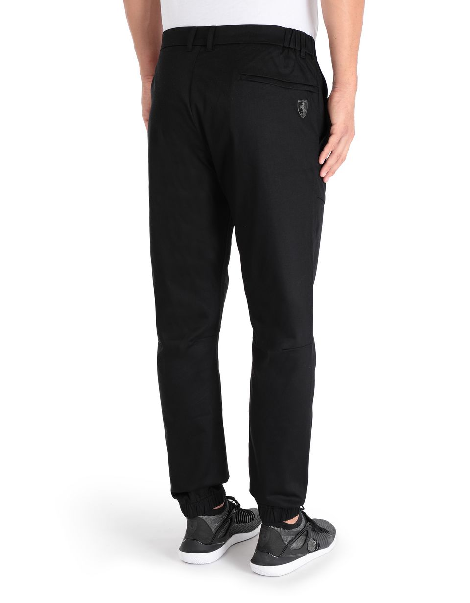 Scuderia Ferrari Online Store - Men's chino trousers in technical fabric - Chinos