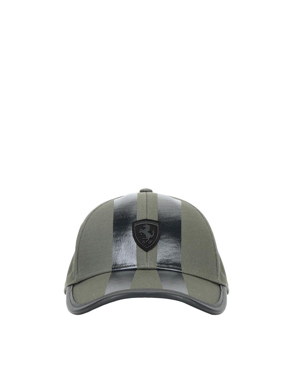 Scuderia Ferrari Online Store - Men's silkscreen printed cap with visor -