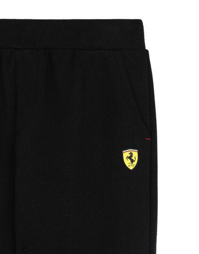 Scuderia Ferrari Online Store - 青少年双层针织面料长裤 - 慢跑裤
