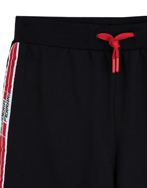 Scuderia Ferrari Online Store - Boys' shorts with <i>Icon Tape</i> - Joggers
