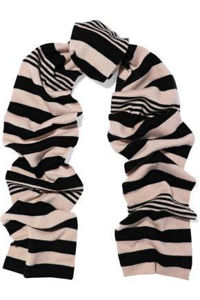 EQUIPMENT Striped cashmere scarf