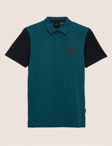 WORLD LOGO COLORBLOCK POLO
