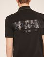 ARMANI EXCHANGE STENCILED LOGO BACK POLO SHORT SLEEVES POLO Man b