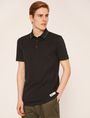ARMANI EXCHANGE STENCILED LOGO BACK POLO SHORT SLEEVES POLO Man f