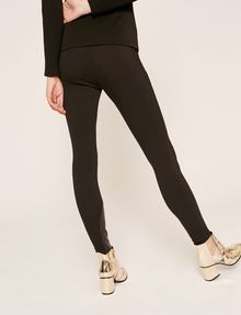 ARMANI EXCHANGE LEGGING À EMPIÈCEMENTS EN SIMILICUIR Legging Femme e