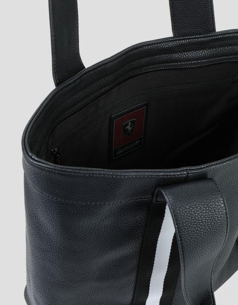 Scuderia Ferrari Online Store - Borsa rossa da donna Scuderia Ferrari in ecopelle - Tote Bag