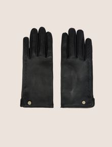 ARMANI EXCHANGE LEATHER DRIVING GLOVES Glove Woman f