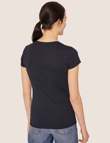 ARMANI EXCHANGE METALLIC WINK CREW Graphic T-shirt [*** pickupInStoreShipping_info ***] e