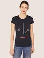 ARMANI EXCHANGE METALLIC WINK CREW Graphic T-shirt [*** pickupInStoreShipping_info ***] f