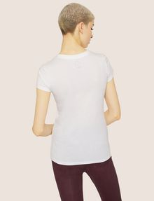 ARMANI EXCHANGE METALLIC WINK CREW Graphic T-shirt Woman e