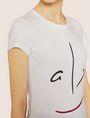 ARMANI EXCHANGE METALLIC WINK CREW Graphic T-shirt Woman b