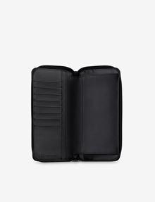 ARMANI EXCHANGE ALLOVER LOGO CONTINENTAL WALLET Wallet Man r