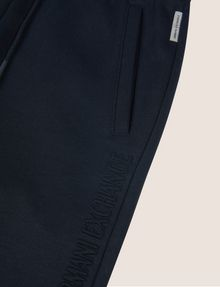 ARMANI EXCHANGE GIRLS DEBOSSED LOGO SWEATPANT Fleece Trouser Woman d
