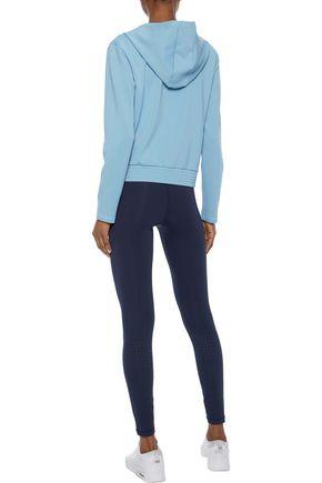 IRIS & INK Serena stretch-jersey hoodie