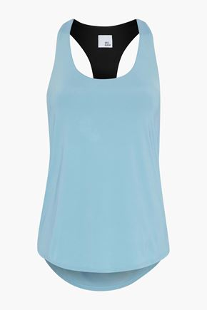 IRIS & INK Li cutout stretch-jersey tank