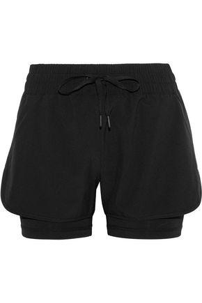 IRIS & INK Wilma layered stretch shorts