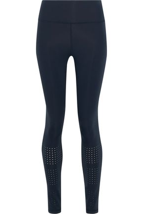 IRIS & INK Gabby perforated stretch leggings