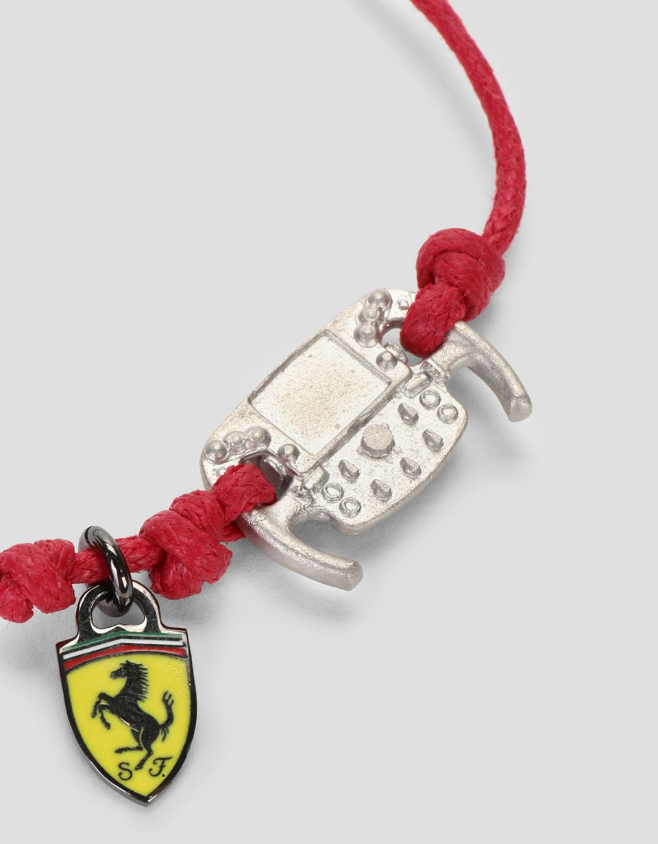 Scuderia Ferrari Online Store - Children's bracelet with metal steering wheel -