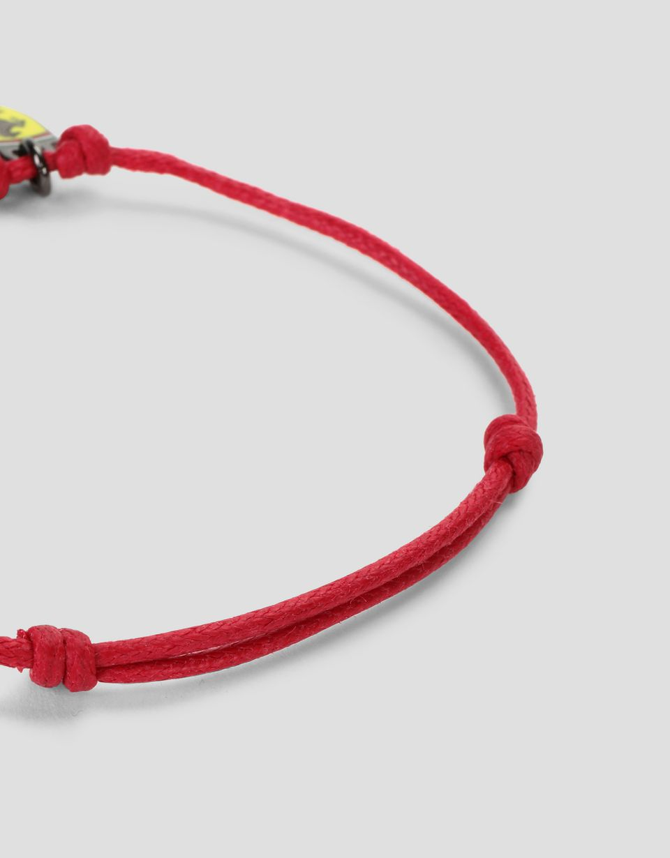 Scuderia Ferrari Online Store - Children's bracelet with metal steering wheel - Pendants & Bracelets