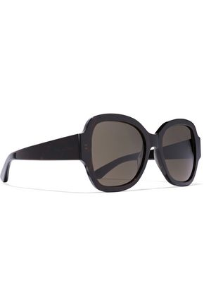 95313d4388 SAINT LAURENT. D-FRAME ACETATE SUNGLASSES