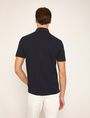 ARMANI EXCHANGE TONAL STRIPE PIECED POCKET POLO SHORT SLEEVES POLO Man e