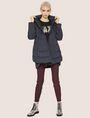 ARMANI EXCHANGE CARTOONARTIGES T-SHIRT MIT RUNDHALSAUSSCHNITT UND PAILLETTEN Logo-T-Shirt Damen d