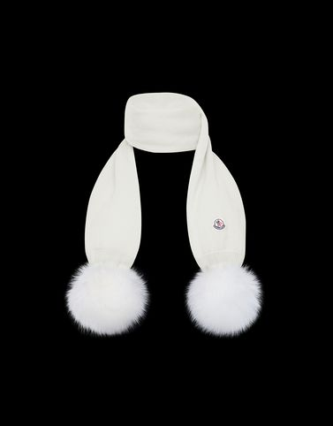 Moncler Kids 4-6 Years - Girl Woman: SCARF