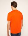 ARMANI EXCHANGE STENCIL V-NECK LOGO TEE Logo T-shirt Man e