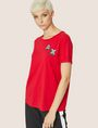 ARMANI EXCHANGE DOT BLOCK LOGO CREW Logo T-shirt [*** pickupInStoreShipping_info ***] f