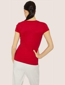 ARMANI EXCHANGE METALLIC HIGHLIGHTER LOGO CREW Logo T-shirt [*** pickupInStoreShipping_info ***] e