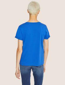 ARMANI EXCHANGE DOT BLOCK LOGO CREW Logo T-shirt [*** pickupInStoreShipping_info ***] e