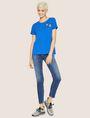ARMANI EXCHANGE DOT BLOCK LOGO CREW Logo T-shirt [*** pickupInStoreShipping_info ***] d
