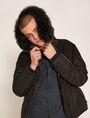 ARMANI EXCHANGE SLIM-FIT LOGO MICRODOT STRETCH SHIRT Printed Shirt Man a
