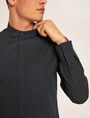 ARMANI EXCHANGE SLIM-FIT LOGO MICRODOT STRETCH SHIRT Printed Shirt Man b