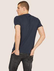 ARMANI EXCHANGE T-SHIRT GIROCOLLO REGULAR FIT CON STAMPA DI PAESAGGIO URBANO AL TRAMONTO T-shirt con logo Uomo e