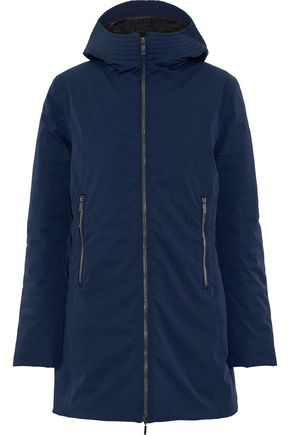 FUSALP Shell hooded down coat